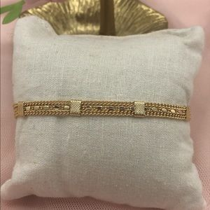 Chain bracelet, gold plated jewelry